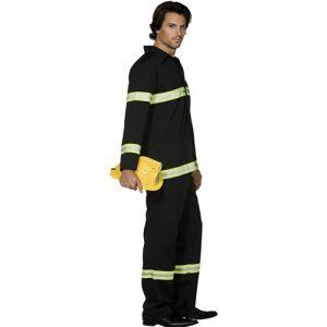Costume homme pompier profil