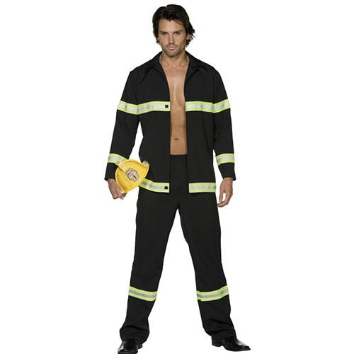 Paris Homme Costume Sexy Du Pompier Feu Combattant Déguisements PnwOk0