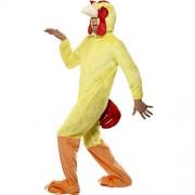 Costume homme poulet profil