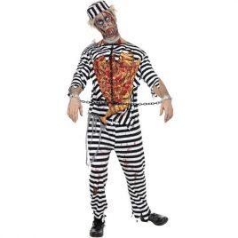 Costume homme prisonnier zombie