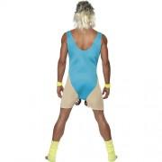 Costume homme professeur sport femme humour dos
