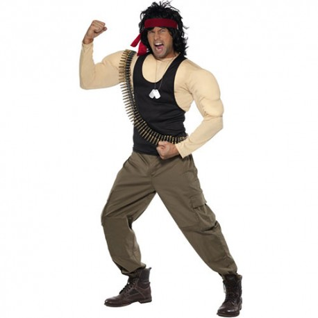 Costume homme Rambo