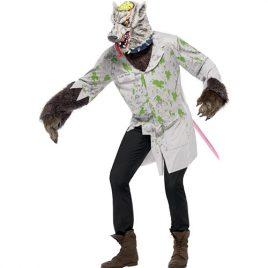 Costume homme rat laboratoire
