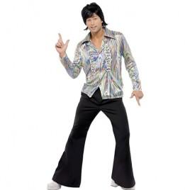 Costume homme disco psychédélique