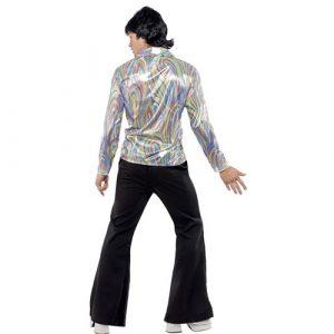 Costume homme disco psychédélique dos