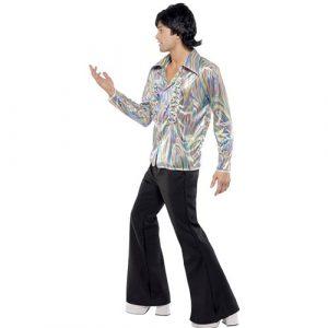 Costume homme disco psychédélique profil