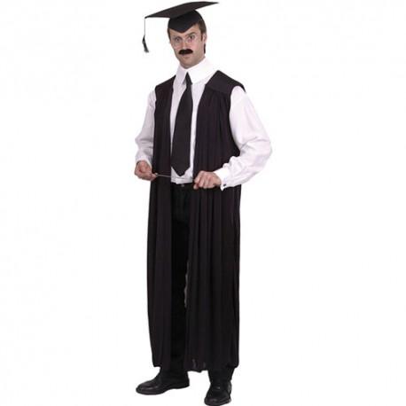 Costume homme robe professeur université