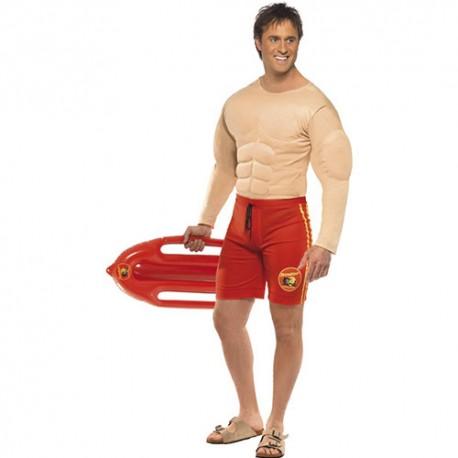 Costume homme sauveteur musclé