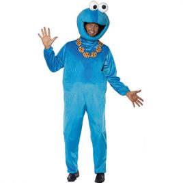 Costume homme Sesame Street Cookie Monster