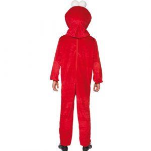 Costume homme Sesame Street Elmo dos