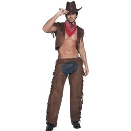 Costume homme sexy cowboy rider