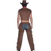 Costume homme sexy cowboy rider dos