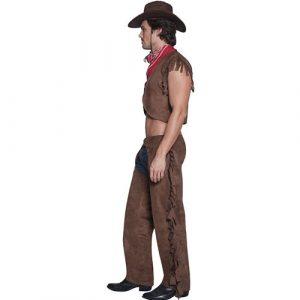 Costume homme sexy cowboy rider profil