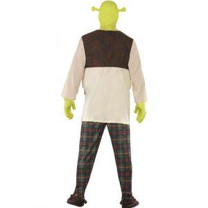 Costume homme Shrek dos