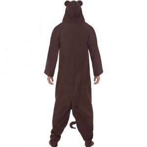 Costume homme singe dos