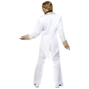 Costume homme star années 70 dos