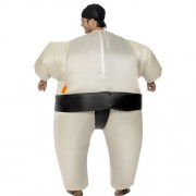 Costume homme sumo lutteur gonflable dos