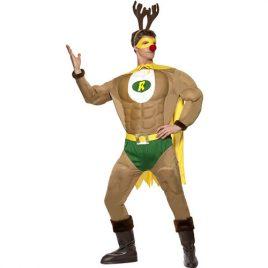 Costume homme super renne Noël