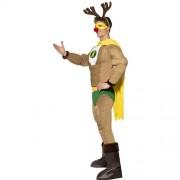 Costume homme super renne Noël profil