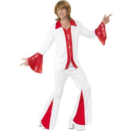Costume homme super disco pop