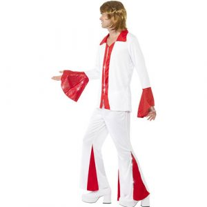 Costume homme super disco pop profil