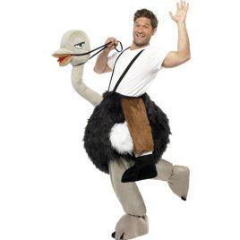 Costume homme sur autruche