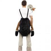 Costume homme sur autruche dos