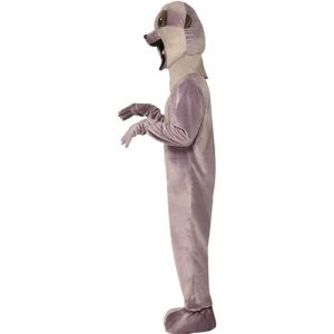 Costume homme suricate profil