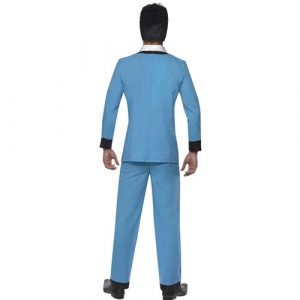 Costume homme Teddy boy dos