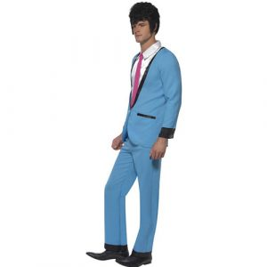 Costume homme Teddy boy profil