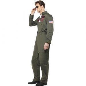 Costume homme Top Gun profil