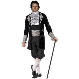 Costume homme vampire baroque