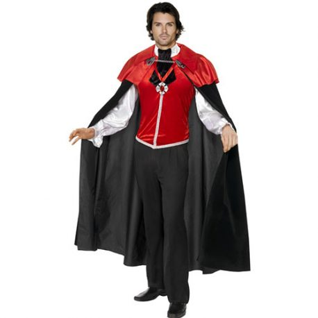 Costume homme vampire manoir gothique