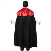 Costume homme vampire manoir gothique dos