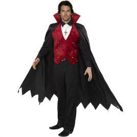 Costume homme vampire élégant