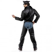 Costume homme village people biker dos