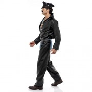 Costume homme village people biker profil
