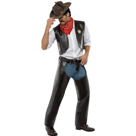 Costume homme village people cowboy