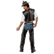 Costume homme village people cowboy dos