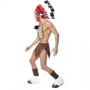 Costume homme village people indien profil