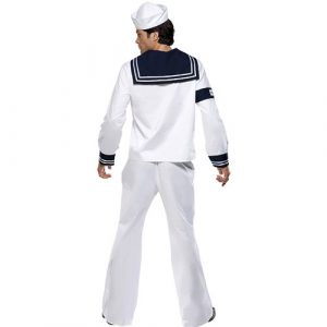 Costume homme village people marin dos