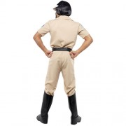 Costume homme village people motard police dos