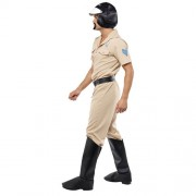 Costume homme village people motard police profil