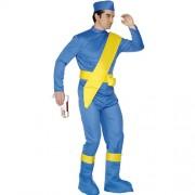 Costume homme Virgil Thunderbirds profil