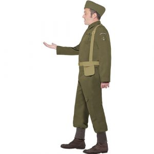 Costume homme volontaire guerre profil