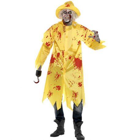 Costume homme zombie imperméable