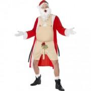 costume homme de père Noël Vicieux
