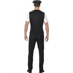 Costume homme kit policier dos