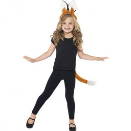 Costume enfant kit oreilles queue de renard