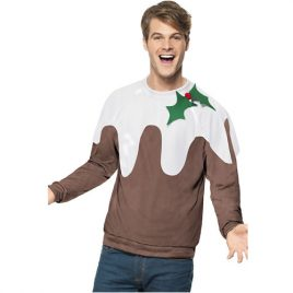Pull homme Christmas Pudding